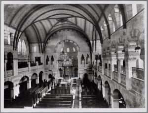 Overview Groningen synagoge, ca. 1939